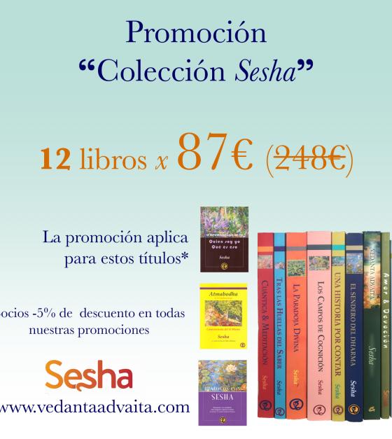 Promoción Colección Sesha pack 12 libros